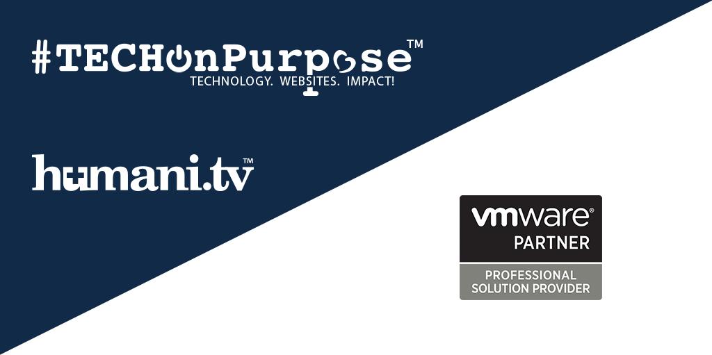 #TECHOnPurpose Partners with VMware